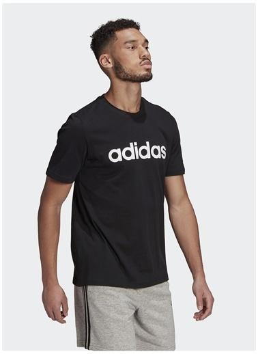 adidas adidas GL0057 M LIN SJ T Erkek T-Shirt Siyah
